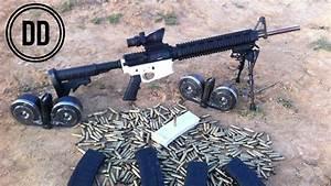 Paintball Gatling Gun Blueprints