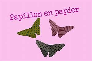 Pliage En Papier : comment faire un papillon en papier facile pliages ~ Melissatoandfro.com Idées de Décoration