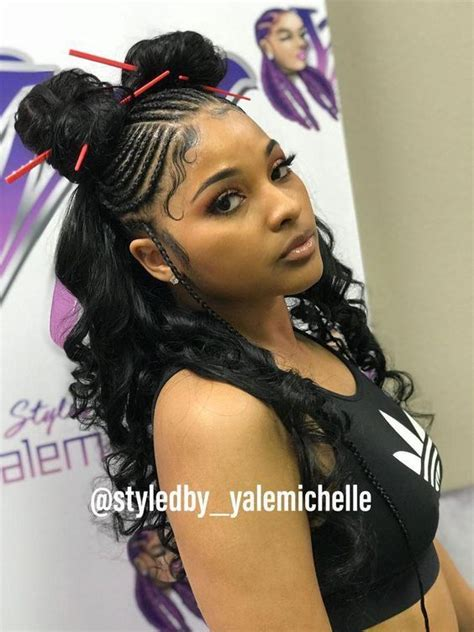 Half Weave Sew In Hairstyles by 35 Braid Hairstyles With Weave