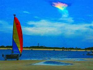 Beachgoers Snap Stunning Photos Of Rare  U0026 39 Fire Rainbow U0026 39  In