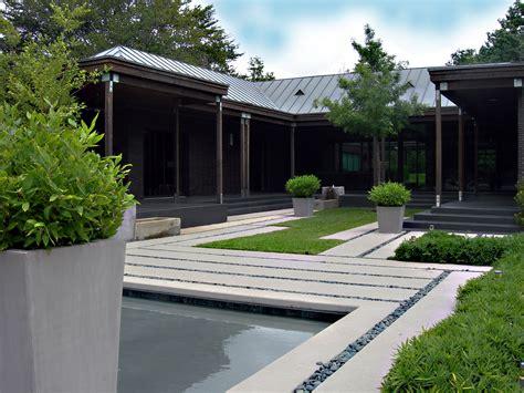 modern landscape design image gallery modern landscape design planter