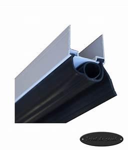 joint bas simple levre etanche caoutchouc pour porte de With joint d etancheite pour porte de garage