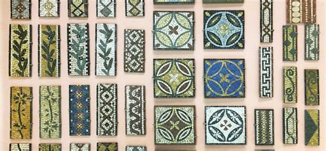 Roman Mosaic Patterns  A Visual Glossary  The Ancient Home