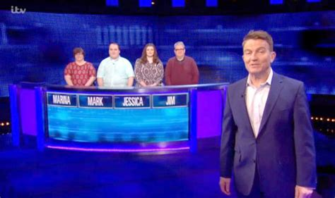 chase contestant leaves bradley walsh  stitches