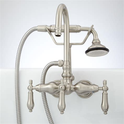 pasaia tub wall mount faucet  hand shower lever