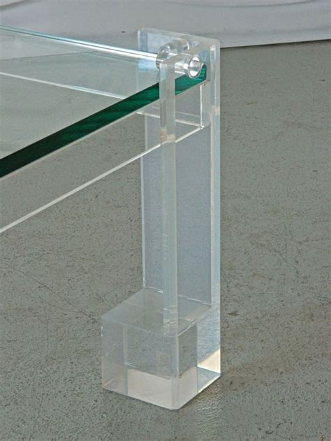 acrylic coffee lucite and glass coffee table coffee glass and tables