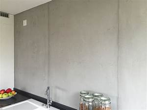 Badezimmer Tapete Wasserabweisend : betonoptik die trendige wandgestaltung farbefreudeleben ~ Michelbontemps.com Haus und Dekorationen