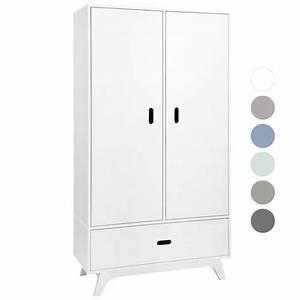 Kleiderschrank 2 Türig Weiß : mimm kleiderschrank 2 t rig wei kinderzimmerhaus ~ Eleganceandgraceweddings.com Haus und Dekorationen