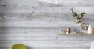 deco lambris marie claire maison With peindre son salon en gris et blanc 16 planche en bois brut design dinterieur et idees de meubles