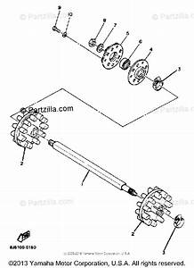 Yamaha Snowmobile 1984 Oem Parts Diagram For Track Drive 1