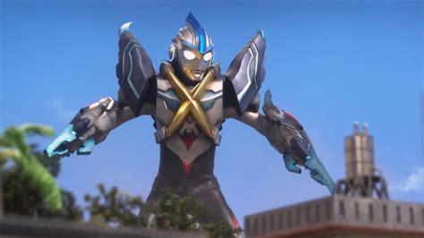 Ultraman Orb Trinity + Cyber Gomora Armor Transformation