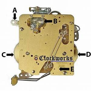 Hermle Clock Movement Parts 140   Clockworks