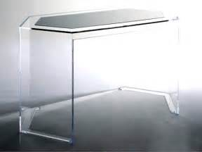 plexiglass side table acrylic office desk furniture clear