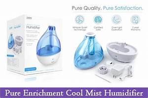 Pure Enrichment Ultrasonic Cool Mist Humidifier Manual Sam
