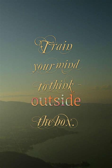 mind train quotes training think