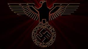 Eagle of National Socialism with German Colors by William ...