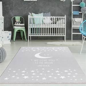 Teppich Kinderzimmer Sterne : kinderzimmer teppich mond sterne grau teppich4kids ~ Eleganceandgraceweddings.com Haus und Dekorationen
