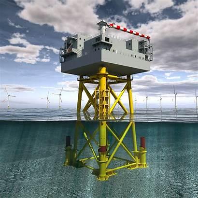 Platform Accommodation Building Offshore Wind Vattenfall