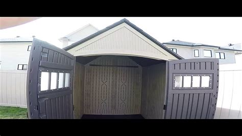 Roughneck 7x7 Shed by Rubbermaid Roughneck 7 X 7 Shed Build Timelapse