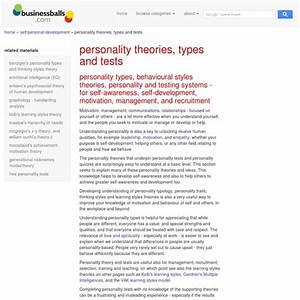 Personality Styles Types Theories And Psychometrics Models