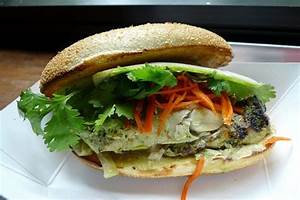 A Sandwich a Day: Grilled King Mackerel at Num Pang ...