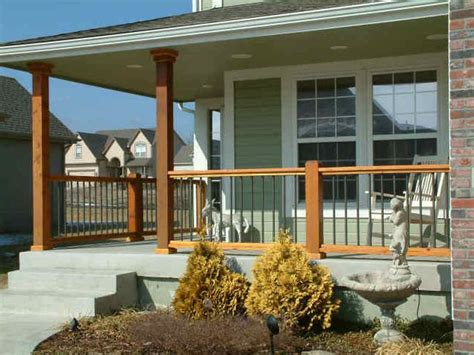 front porch railings and posts 3 pinterest front