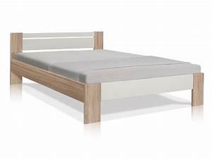 Bett 140x200 Sonoma Eiche : vegas futonbett 140x200 cm eiche sonoma wei ~ Indierocktalk.com Haus und Dekorationen