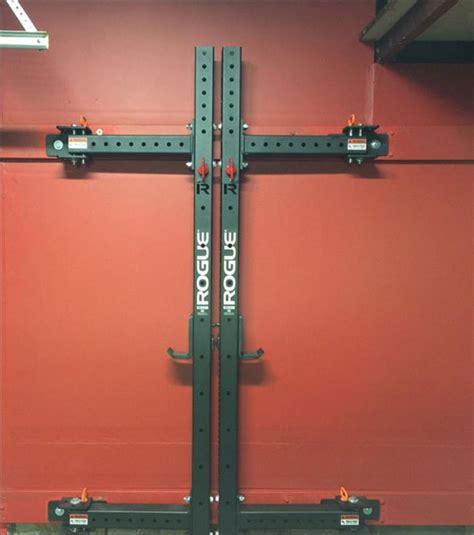 rogue rml    depth stowed  nice  compact garage gyms