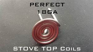 Testing Diy Stove Top Coil Jig V2