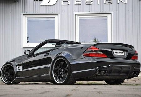 Mercedes Sl Class Backgrounds by Mercedes Sl Class R230 Widebody By Prior Design Mercedes