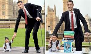 'We've got a lot in common' World's TALLEST man and ...