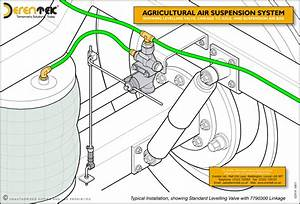 Electronic Air Suspension System Diagram