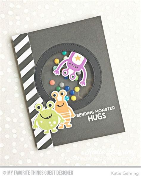 handmade card  katie gehring featuring  monsters
