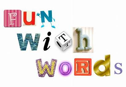 Word Words Fun Clipart Games Five Bubble