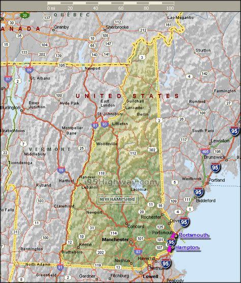 map   hampshire  hampshire maps mapsofnet