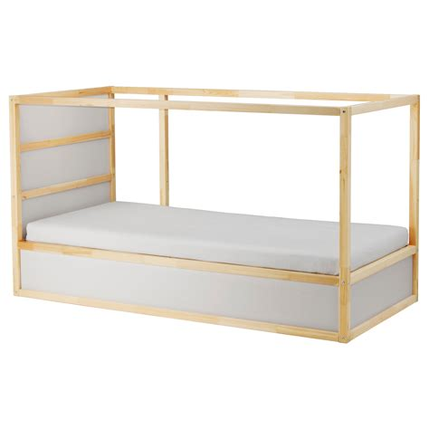 kura reversible bed white pine 90x200 cm ikea