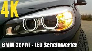 Bmw F48 Led Scheinwerfer : bmw 2er active tourer led scheinwerfer 4k youtube ~ Jslefanu.com Haus und Dekorationen