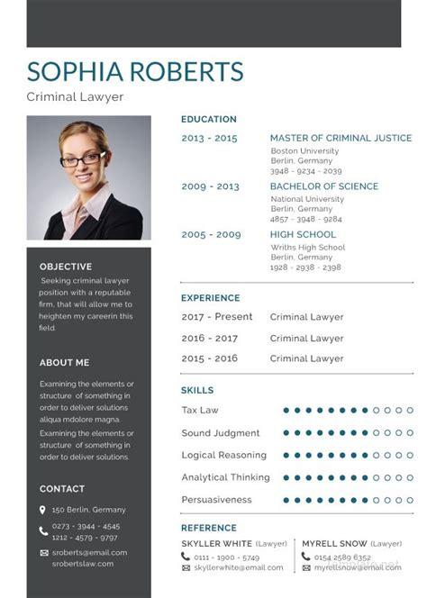 basic criminal lawyer resume cv oernekleri resume