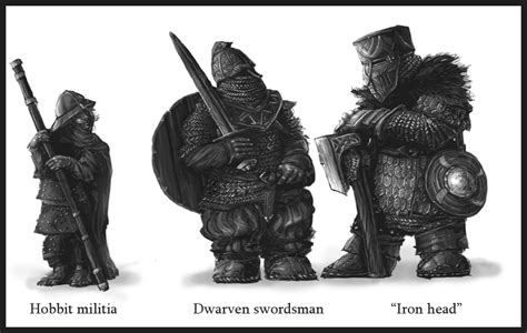 The Hobbit Dwarve Armor Template by Tld Concept Art