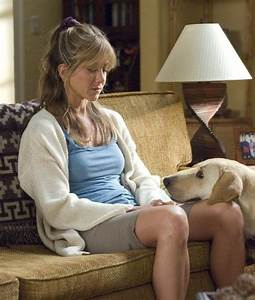 Jenn in a scene from the movie Marley and Me. I love her ...