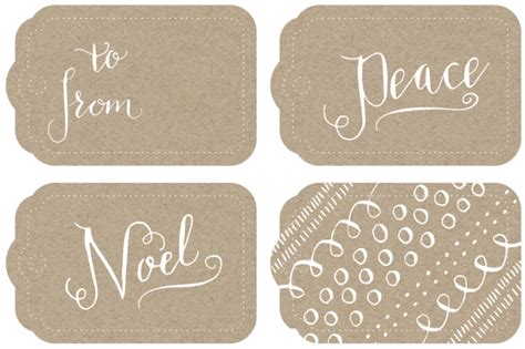 Calligraphy Gift Tags And More