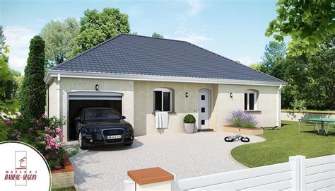 modele de maison plain pied pruni 232 re mod 232 le maison plain pied