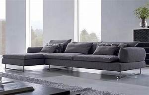 Large sectional sofa couches in grey modern sofas modern for Large modern sectional sofas