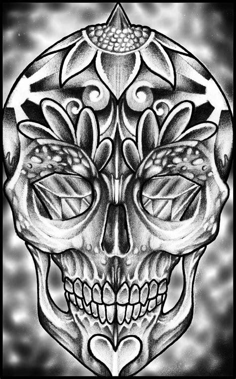 images  skulls sugar skulls  pinterest sugar skull design  skulls