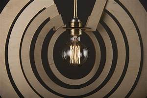 Concentric Cycles A Modern Wood Lamp For Home Decoration