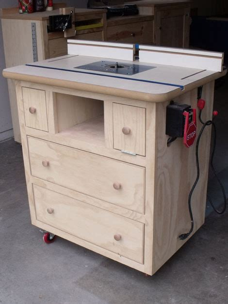 ana white patricks router table plans diy projects