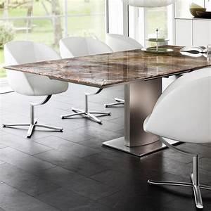 Tisch Mit Steinplatte : tisch 1224 adler ii von draenert ~ Frokenaadalensverden.com Haus und Dekorationen