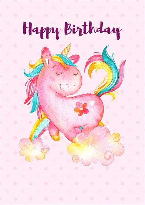unicorn happy birthday poster happy birthday posters