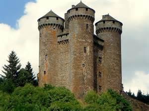 Auvergne France Castle