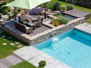 Decoration De Piscine : deco jardin piscine inspirations et deco piscine hors sol ~ Zukunftsfamilie.com Idées de Décoration